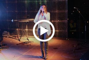Gosia Andrzejewicz w Ostrowitem (VIDEO)