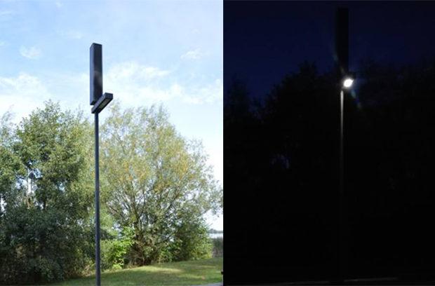 Testują lampy solarne nad jeziorem